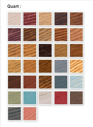 Varathane Wood Stain Colors